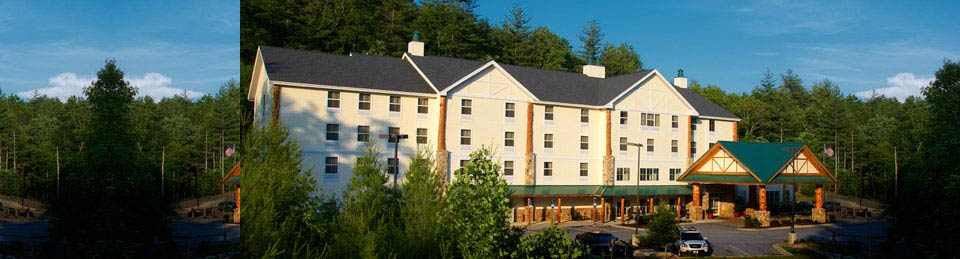 Hampton Inn & Suites Cashiers, North Carolina Hotel Site Map