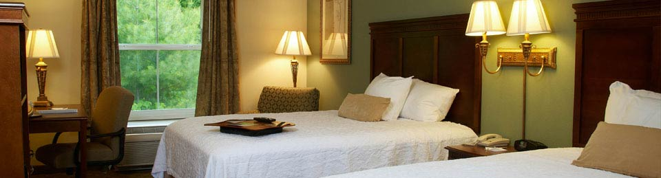 Sapphire Hotel Rooms in Hampton Inn & Suites Cashiers, North Carolina